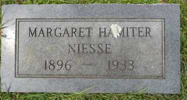 HAMITER NIESSE, MARGARET - Lafayette County, Arkansas | MARGARET HAMITER NIESSE - Arkansas Gravestone Photos