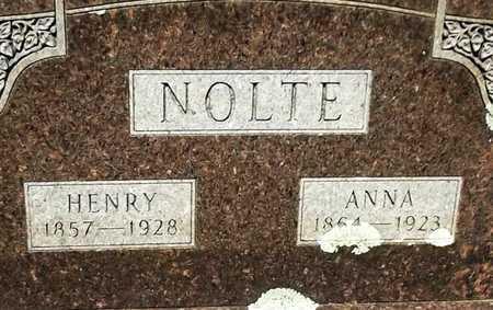 NOLTE, ANNA - Lafayette County, Arkansas | ANNA NOLTE - Arkansas Gravestone Photos