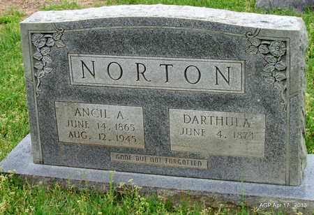 NORTON, ANCIL A - Lafayette County, Arkansas   ANCIL A NORTON - Arkansas Gravestone Photos