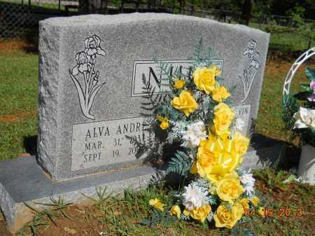 NULL, ALVA ANDRE - Lafayette County, Arkansas | ALVA ANDRE NULL - Arkansas Gravestone Photos
