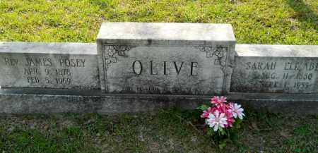 OLIVE, SARAH ELIZABETH - Lafayette County, Arkansas | SARAH ELIZABETH OLIVE - Arkansas Gravestone Photos