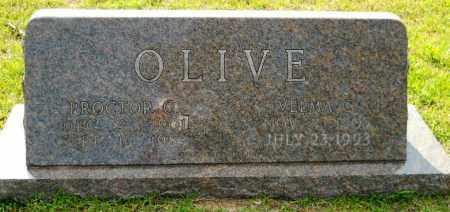OLIVE, VELMA C - Lafayette County, Arkansas   VELMA C OLIVE - Arkansas Gravestone Photos