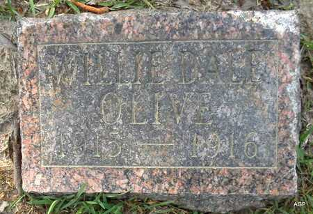 OLIVE, WILLIE DALE - Lafayette County, Arkansas   WILLIE DALE OLIVE - Arkansas Gravestone Photos