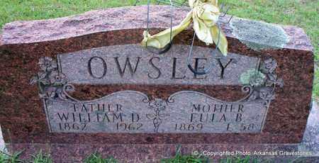 OWSLEY, EULA B - Lafayette County, Arkansas   EULA B OWSLEY - Arkansas Gravestone Photos