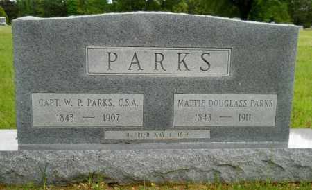 DOUGLASS PARKS, MATTIE - Lafayette County, Arkansas | MATTIE DOUGLASS PARKS - Arkansas Gravestone Photos