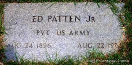 PATTEN, JR (VETERAN), ED - Lafayette County, Arkansas   ED PATTEN, JR (VETERAN) - Arkansas Gravestone Photos