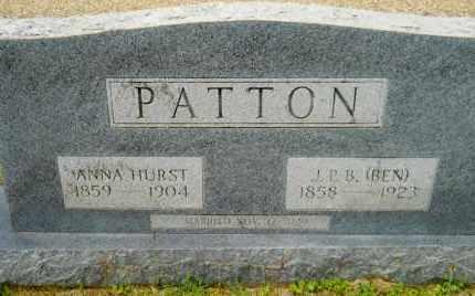 PATTON, ANNA - Lafayette County, Arkansas | ANNA PATTON - Arkansas Gravestone Photos