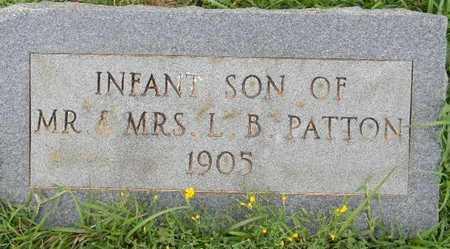 PATTON, INFANT SON - Lafayette County, Arkansas | INFANT SON PATTON - Arkansas Gravestone Photos
