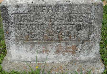 PATTON, INFANT - Lafayette County, Arkansas   INFANT PATTON - Arkansas Gravestone Photos