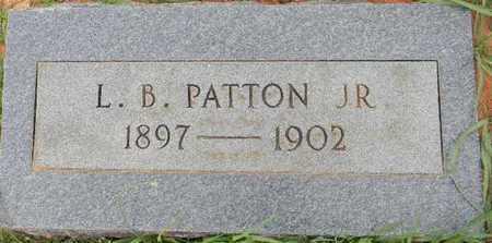 PATTON, JR, L B - Lafayette County, Arkansas | L B PATTON, JR - Arkansas Gravestone Photos