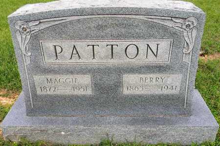 PATTON, BERRY - Lafayette County, Arkansas   BERRY PATTON - Arkansas Gravestone Photos