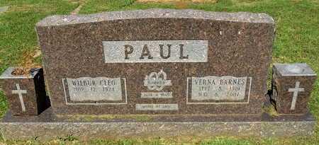 BARNES PAUL, VERNA - Lafayette County, Arkansas | VERNA BARNES PAUL - Arkansas Gravestone Photos