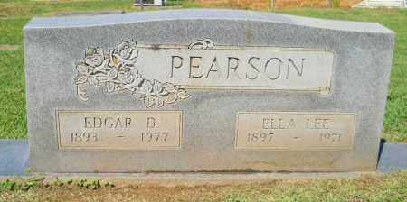 PEARSON, EDGAR D - Lafayette County, Arkansas | EDGAR D PEARSON - Arkansas Gravestone Photos