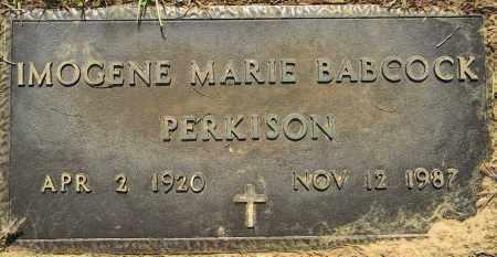 PERKISON, IMOGENE MARIE - Lafayette County, Arkansas | IMOGENE MARIE PERKISON - Arkansas Gravestone Photos