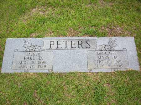 PETERS, MARY M - Lafayette County, Arkansas   MARY M PETERS - Arkansas Gravestone Photos