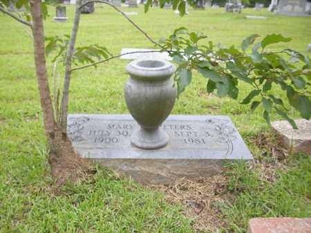 BOYETT PETERS, MARY R - Lafayette County, Arkansas   MARY R BOYETT PETERS - Arkansas Gravestone Photos