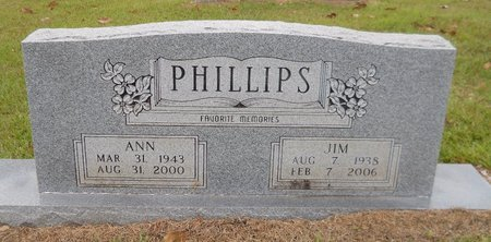 PHILLIPS, ANN - Lafayette County, Arkansas | ANN PHILLIPS - Arkansas Gravestone Photos