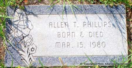 PHILLIPS, ALLEN T - Lafayette County, Arkansas | ALLEN T PHILLIPS - Arkansas Gravestone Photos