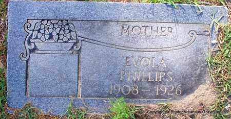 PHILLIPS, EVOLA - Lafayette County, Arkansas | EVOLA PHILLIPS - Arkansas Gravestone Photos