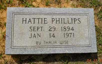 PHILLIPS, HATTIE - Lafayette County, Arkansas | HATTIE PHILLIPS - Arkansas Gravestone Photos