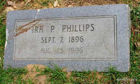 PHILLIPS, IRA P - Lafayette County, Arkansas   IRA P PHILLIPS - Arkansas Gravestone Photos