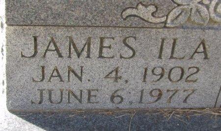 PHILLIPS, JAMES ILA (CLOSE UP) - Lafayette County, Arkansas | JAMES ILA (CLOSE UP) PHILLIPS - Arkansas Gravestone Photos