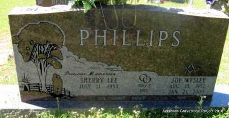 PHILLIPS, JOE WESLEY - Lafayette County, Arkansas   JOE WESLEY PHILLIPS - Arkansas Gravestone Photos