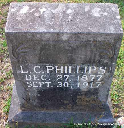 PHILLIPS, L C - Lafayette County, Arkansas   L C PHILLIPS - Arkansas Gravestone Photos