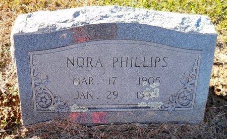 PHILLIPS, NORA - Lafayette County, Arkansas | NORA PHILLIPS - Arkansas Gravestone Photos