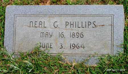 PHILLIPS, NEAL G - Lafayette County, Arkansas   NEAL G PHILLIPS - Arkansas Gravestone Photos