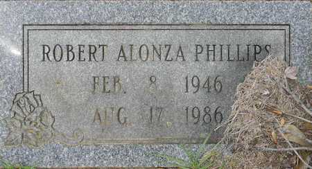 PHILLIPS, ROBERT ALONZO - Lafayette County, Arkansas   ROBERT ALONZO PHILLIPS - Arkansas Gravestone Photos