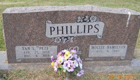 "PHILLIPS, VAN L ""PETE"" - Lafayette County, Arkansas | VAN L ""PETE"" PHILLIPS - Arkansas Gravestone Photos"