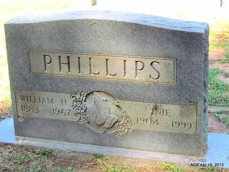 PHILLIPS, INIE - Lafayette County, Arkansas   INIE PHILLIPS - Arkansas Gravestone Photos