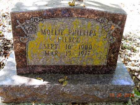 PIERCE, MOLLIE - Lafayette County, Arkansas | MOLLIE PIERCE - Arkansas Gravestone Photos