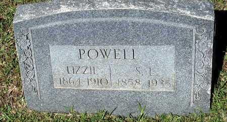 POWELL, LIZZIE - Lafayette County, Arkansas | LIZZIE POWELL - Arkansas Gravestone Photos