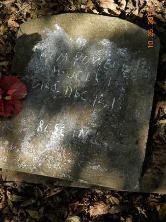POWELL, TOM - Lafayette County, Arkansas | TOM POWELL - Arkansas Gravestone Photos