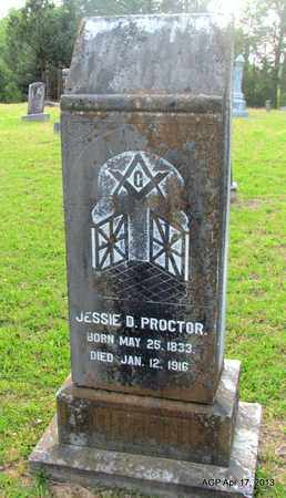 PROCTOR, JESSIE B - Lafayette County, Arkansas | JESSIE B PROCTOR - Arkansas Gravestone Photos
