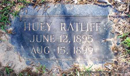 RATLIFF, HUEY - Lafayette County, Arkansas | HUEY RATLIFF - Arkansas Gravestone Photos