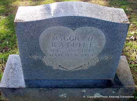 RATLIFF, MAGGIE H - Lafayette County, Arkansas | MAGGIE H RATLIFF - Arkansas Gravestone Photos