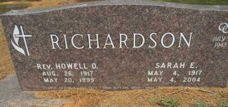 RICHARDSON, SARAH E - Lafayette County, Arkansas   SARAH E RICHARDSON - Arkansas Gravestone Photos