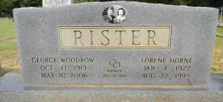RISTER, LORENE - Lafayette County, Arkansas | LORENE RISTER - Arkansas Gravestone Photos
