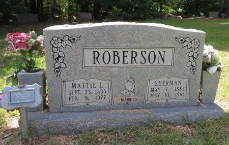 ROBERSON, MATTIE L. - Lafayette County, Arkansas | MATTIE L. ROBERSON - Arkansas Gravestone Photos