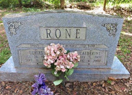 RONE, CATHERINE - Lafayette County, Arkansas   CATHERINE RONE - Arkansas Gravestone Photos