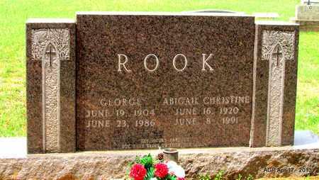ROOK, GEORGE - Lafayette County, Arkansas | GEORGE ROOK - Arkansas Gravestone Photos