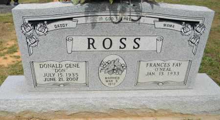 """ROSS, DONALD GENE """"DON"""" - Lafayette County, Arkansas   DONALD GENE """"DON"""" ROSS - Arkansas Gravestone Photos"""