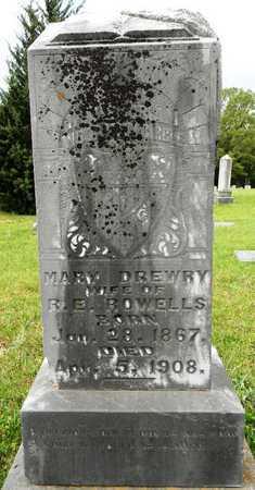 ROWELLS, MARY - Lafayette County, Arkansas | MARY ROWELLS - Arkansas Gravestone Photos