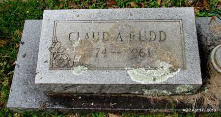 RUDD, CLAUD A - Lafayette County, Arkansas | CLAUD A RUDD - Arkansas Gravestone Photos