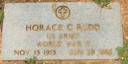 RUDD (VETERAN WWII), HORACE C - Lafayette County, Arkansas | HORACE C RUDD (VETERAN WWII) - Arkansas Gravestone Photos