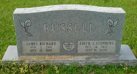 RUSSELL, JAMES RICHARD - Lafayette County, Arkansas | JAMES RICHARD RUSSELL - Arkansas Gravestone Photos