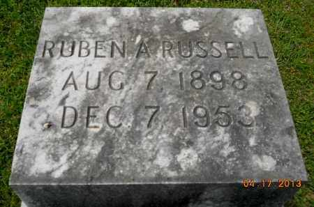 RUSSELL, RUBEN A - Lafayette County, Arkansas | RUBEN A RUSSELL - Arkansas Gravestone Photos